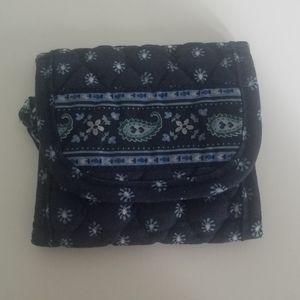 Vera Bradley Navy Blue Wallet
